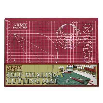TAPPETINO DA MODELLISMO self healing cutting mat THE ARMY PAINTER 3 strati 220 X 300 MM THE ARMY PAINTER - 1