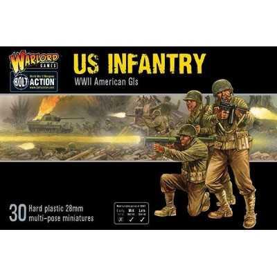 US INFANTRY Bolt Action WWII American GIs 30 miniature 28mm Warlord Games Warlord Games - 1