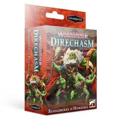 BANDAZBROKKA DI HEDKRAKKA in italiano Direchasm warband Orchi Warhammer Underworlds Games Workshop - 1