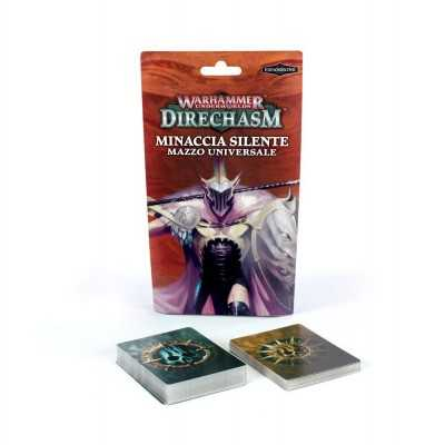 MINACCIA SILENTE mazzo universale in italiano DIRECHASM Warhammer Underworlds Games Workshop - 1