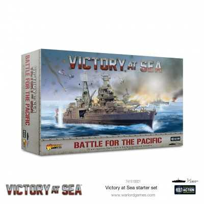 BATTLE FOR THE PACIFIC - Victory at sea Starter Set Navy war battles miniature Warlord Games Warlord Games - 1