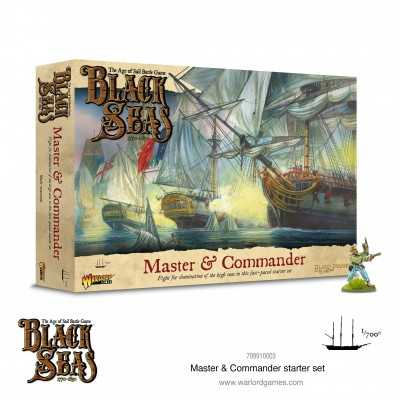 BLACK SEAS MASTER & COMMANDER Starter Set Age of Sail Navy battle game miniatures Warlord Games Warlord Games - 1