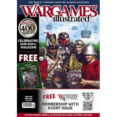 WARGAMES ILLUSTRATED issue WI400 April 2021 Warlord Games - 1