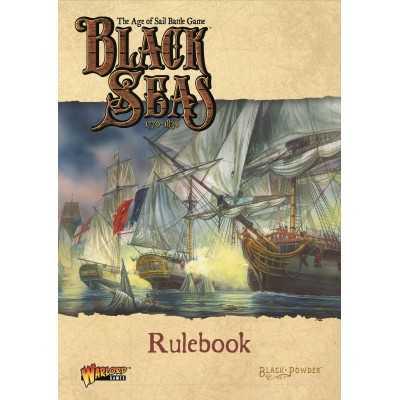 BLACK SEAS Rulebook regolamento in English the age of sail Battle Game Black Powder Warlord Games - 1