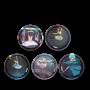 SET DI 5 KLETTIES per il tuo zaino BALLERINA intercambiabili ERGOBAG ballett dancer Ergobag - 1