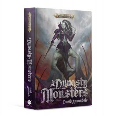 A DYNASTY OF MONSTERS  novel by David Annandale Black Library Souliblight Games Workshop - 1