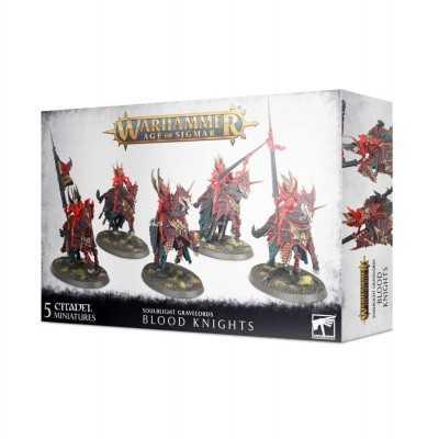 BLOOD KNIGHTS Soulblight Gravelords 5 miniature cavalleria vampirica Age of Sigmar Games Workshop - 1