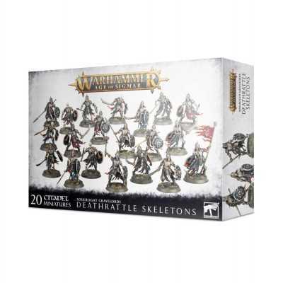 DEATHRATTLE SKELETONS Soulblight Gravelords scheletri 20 miniature Warhammer Age of Sigmar Games Workshop - 1