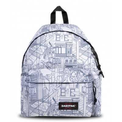 ZAINO eastpak PADDED PAK'R backpack MASTER WHITE I86 scuola 24 LITRI EASTPAK - 1