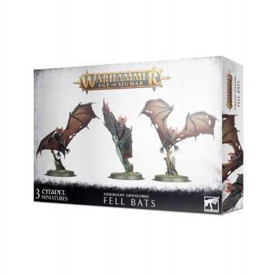 FELL BATS Soulblight Gravelords 3 miniature Pipistrelli Warhammer Age of Sigmar Games Workshop - 1