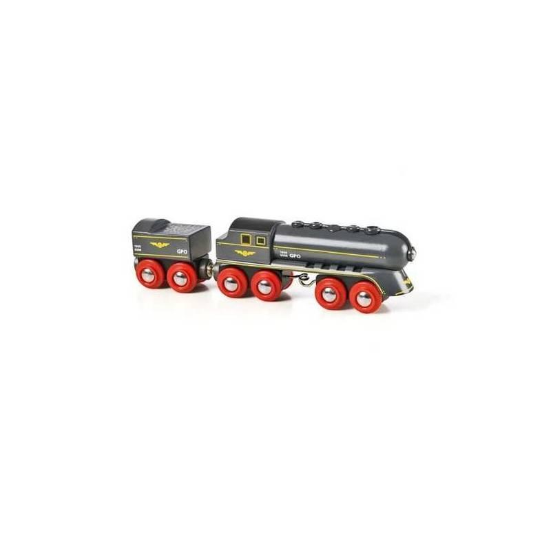 VAPORIERA VELOCE treni in legno BRIO trenino 33697 SPEEDY BULLET TRAIN