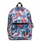ZAINO invicta JELEK backpack FANTASY scuola BIANCO FIORI E FARFALLE eco material 38 LITRI Invicta - 1