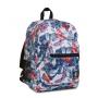 ZAINO invicta JELEK backpack FANTASY scuola BIANCO FIORI E FARFALLE eco material 38 LITRI Invicta - 2