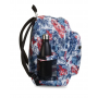 ZAINO invicta JELEK backpack FANTASY scuola BIANCO FIORI E FARFALLE eco material 38 LITRI Invicta - 6