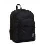 ZAINO invicta JELEK backpack PLAIN scuola NERO eco material 38 LITRI Invicta - 1