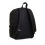 ZAINO invicta JELEK backpack PLAIN scuola NERO eco material 38 LITRI Invicta - 5