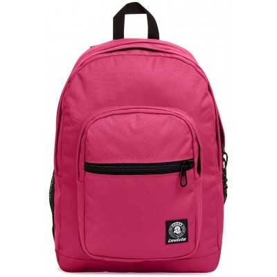 ZAINO invicta JELEK backpack PLAIN scuola ROSA eco material 38 LITRI Invicta - 1