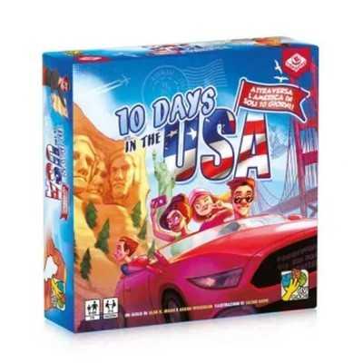 10 DAYS IN THE USA gioco da tavolo IN ITALIANO dv giochi VIAGGIO IN AMERICA età 8+ daVinci Games - 1