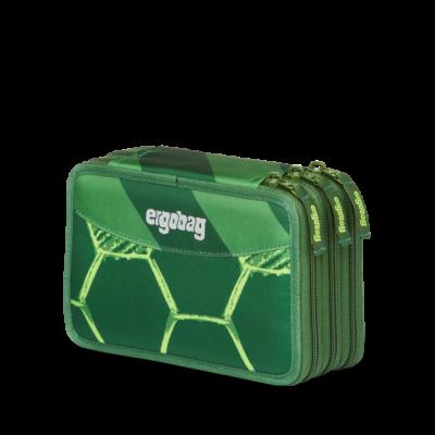 ASTUCCIO maxi 3 ZIP scuola ERGOBAG triplo STRIKE BEAR materiale riciclato VERDE Ergobag - 1