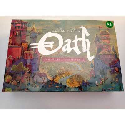 OATH Chronicles of Empire & Exile Kickstarter Edition including Journal and Coins  - 2