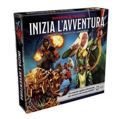 INIZIA L'AVVENTURA set introduttivo DUNGEONS & DRAGONS gioco da tavolo collaborativo GDR in italiano HASBRO - 1