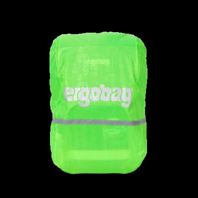 RAIN COVER VERDE coprizaino impermeabile ERGOBAG parapioggia RIFLETTENTE per zaino Ergobag - 1