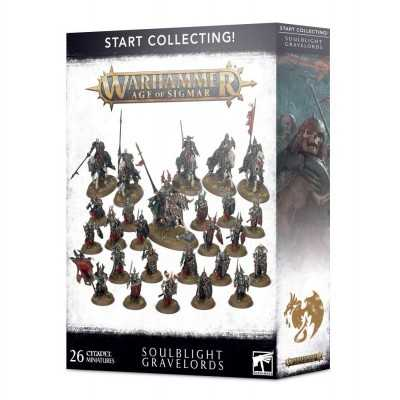 START COLLECTING SOULBLIGHT GRAVELORDS 26 miniature Undead Warhammer Age of Sigmar Games Workshop - 1