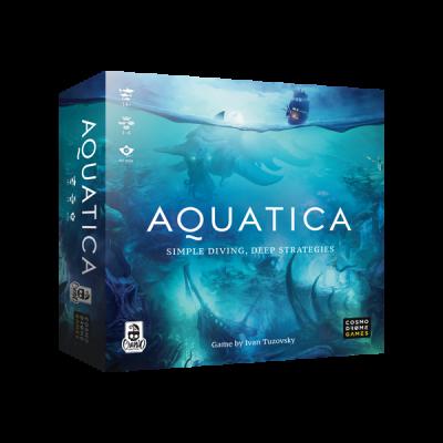 AQUATICA gioco da tavolo CRANIO CREATIONS civiltà marine RE DEI MARI età 14+ Cranio Creations - 1