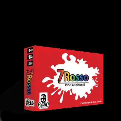 7 ROSSO setterosso PARTY GAME gioco da tavolo CRANIO CREATIONS veloce IN ITALIANO età 8+ Cranio Creations - 1