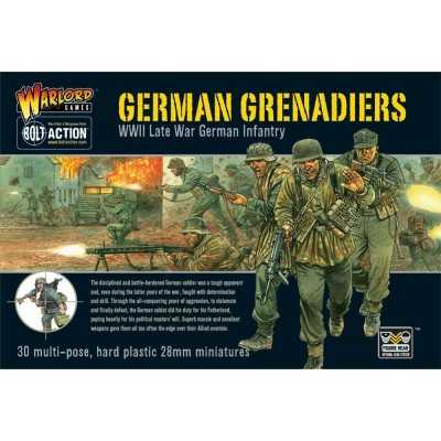 GERMAN GRENADIERS fanteria tedesca BOLT ACTION 30 miniature in plastica WARLORD GAMES scala 1/56 Warlord Games - 1