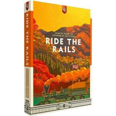 RIDE THE RAILS gioco da tavolo IN INGLESE winsome games IRON RAIL 2 età 12+ Ghenos Games - 1