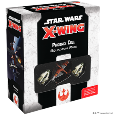 PHOENIX CELL squadrion pack STAR WARS X WING espansione IN INGLESE età 14+ Fantasy Flight - 2