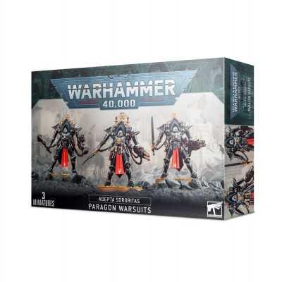 ARMATURE PARAGON WARSUITES Adepta Sororitas 3 miniature Warhammer 40000 Sorelle Guerriere Games Workshop - 1