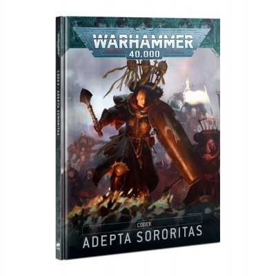 CODEX ADEPTA SORORITAS in italiano 2021 Manuale Sorelle Guerriere Warhammer 40000 Games Workshop - 1