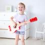 CHITARRA ROSSA in legno HAPE red flame guitar 6 CORDE strumento musicale E0602 età 3+ Hape - 4