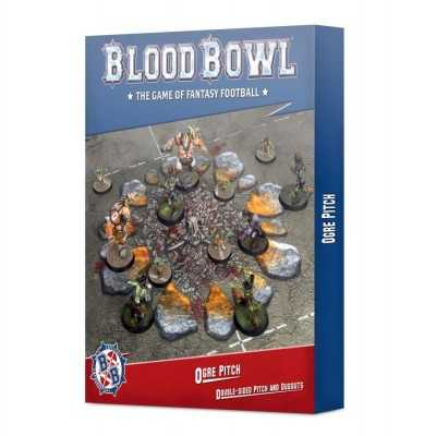 OGRE PITCH & DUGOUTS per Blood Bowl campo e panchine Games Workshop - 1