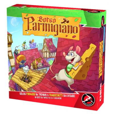 BORGO PARMIGIANO red glove GIOCO DA TAVOLO topi FORMAGGIO età 6+ Red Glove - 1