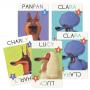 TOP DOGS gioco di carte RAPIDITA' E PAROLE djeco CANI sillabe DJ05099 età 8+ Djeco - 2