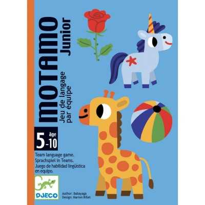MOTAMO JUNIOR gioco di carte ABILITA' LINGUISTICHE oggetti e animali DJECO età 5+ Djeco - 1