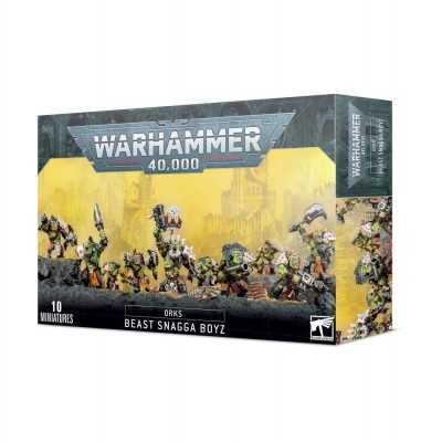 BEAST SNAGGA BOYS ORKS ragazzi Zpakkabeztie orki 10 miniature Warhammer 40000 Games Workshop - 1