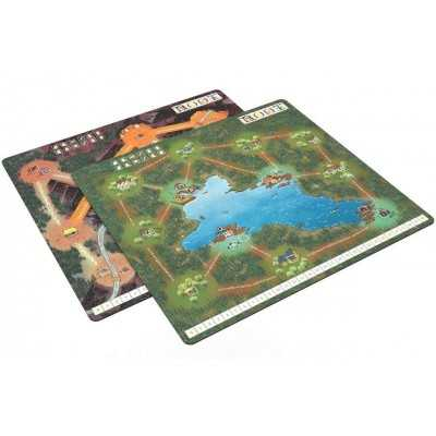 ROOT PLAYMAT Montagna - lago espansione Lake and Mountain tappetino  - 1