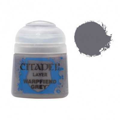 WARPFIEND GREY colore acrilico grigio Citadel 12ml Games Workshop - 1