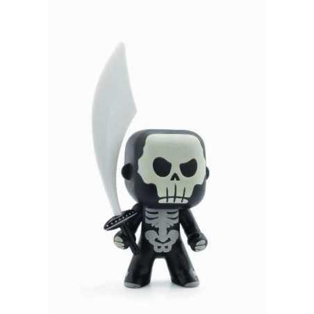 Skully ARTY TOYS DJECO DJ06719 action figure in resina snodabile MINIATURA 3+