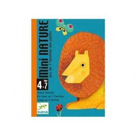 MINI NATURE by DJECO gioco di carte 7 famiglie x 2-4 giocatori età 4+ DJ05128