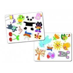 MINIMATCH by DJECO gioco di carte di osservazione x 2-5 giocatori età 3+ DJ05175