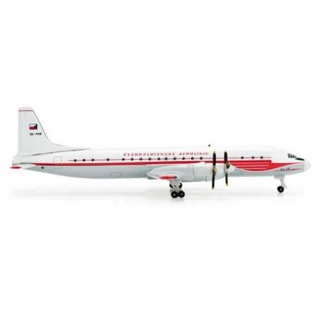CSA Ilyushin IL-18 517447 HERPA WINGS 1:500