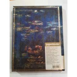 Diario bianco MONET NINFEE ultra cm 23x18 edizione limitata - PAPERBLANKS