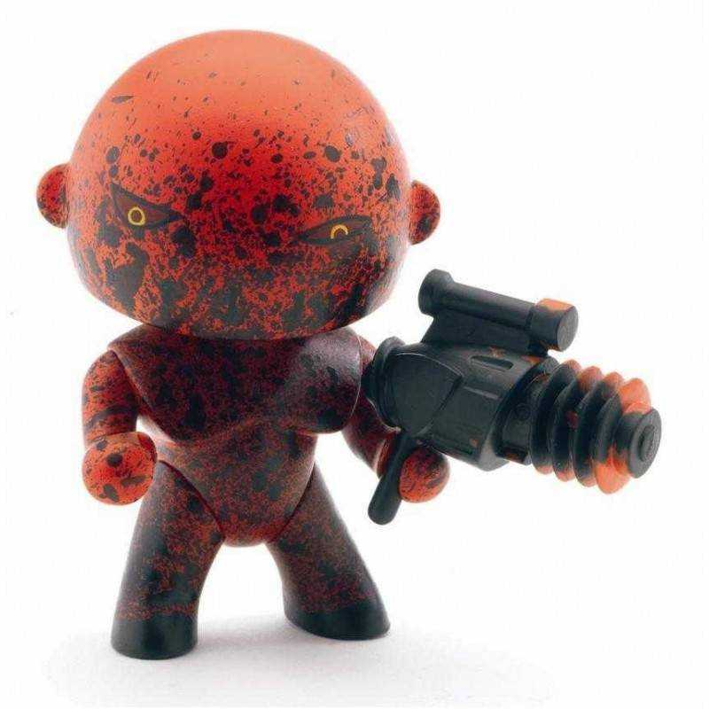 MAGMA ARTY TOYS DJECO DJ06903 action figure snodabile MINIATURE 3+