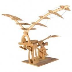 ORNITOTTERO LEONARDO DA VINCI in legno da costruire FUNZIONA età 9+ pathfinder