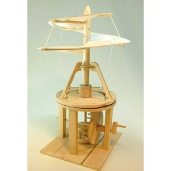 ELICOTTERO LEONARDO DA VINCI in legno da costruire FUNZIONANTE Pathfinders 9+